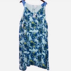 JUNAROSE Floral Chiffon Sundress Dress Size 24